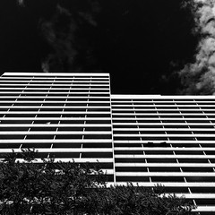 Upper Jarvis, Toronto (gt223) Tags: apartment blackandwhite upperjarvis brutalism modern modernarchitecture architecture concrete city urban toronto