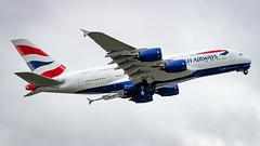 Airbus A380-841 G-XLEJ British Airways (William Musculus) Tags: airport spotting london heathrow lhr egll gxlej british airways airbus a380841 ba baw a380800