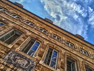 Looking up Luxembourg City