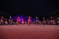 Edinburgh Military Tattoo 2018-338 (Philip Gillespie) Tags: edinburgh scotland canon 5dsr military tattoo international 2018 100 years raf army navy the sky is limit edintattoo raf100 edinburghtattoo people crowd fun lights fireworks dancing dancers men women kids boys girls young youth display planes music musicians pipes drums mexico america horses helicopters vip royal tourist festival sun sunset lighting band smiles red blue white black green yellow orange purple tartan kilts skirts castle esplanade historic annual usa swords feet