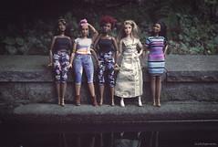 💝 My curvy articulated Barbies 💝 (lichtspuren) Tags: barbie curvy madetomove curvymadetomove thebarbielook goddessfacemold mbilifacemold brandyfacemold lichtspuren