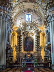 Apse and Main Altar of Church of St. Anne (Kolegiata św. Anny) in Krakow (ctj71081) Tags: apse church churchofstanne kolegiataśwanny krakow mainaltar poland