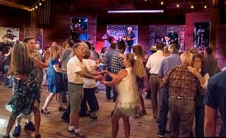 2018 dancers, BeauSoleil avec Michael Doucet, Vermilionville, Lafayette, Aug 5-0636