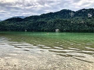 The Weissensee lake near the city of Füssen - Part 2-2