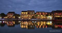 Hoi An (Rolandito.) Tags: south east asia southeast vietnam hoi an reflection blue hour twilight nightfall abend evening light lights night