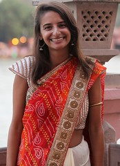 Alyssa at Ganga Concert (Scott RS) Tags: concert india ganga ganges classicalconcert sari dress red tan smile gentle kind fun funny sweet tender beauty beautifulwoman gorgeous eyes sparkle twinkle energy positive skin