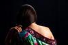 Shoulder (El Cajon) Tags: kimono woman long hair bare shoulder hand graceful brocade
