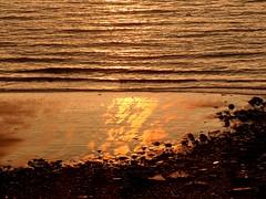 Beloved Island Heligoland (BrigitteE1) Tags: helgoland heligoland islandheligoland sonnenaufgang sunrise strand beach gold goldensunrise