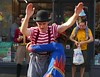 Gifford's Circus Preview (jacquemart) Tags: giffordscircus preview giffordscircuspreview clown acrobat juggler stroud gloucestershire