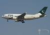PIA Pakistan International Airlines - Airbus A310-300 - AP-BGO (Stavridis - Aviation & Photography) Tags: pia pakistan pakistani karachi islamabad lahore quetta airbus a310 a310300 delta apbgo spotting spotters avgeek aviation airport dxb omdb dubai uae landing runway