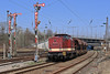 204 237 (René Große) Tags: train rail railways lok diesellok v100 204 press bahnhof formsignal leipzig schönefeld sachsen deutschland germany