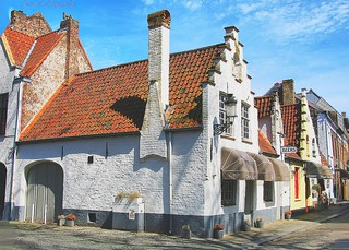 Bruges and its decorative, beautiful houses