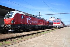 383.105 163.104 and 754.054 @ Kosice in Slovakia (uksean13) Tags: 383105 163104 754054 slovakia kosice train transport railway rail rusnoparada2018 zssk canon 760d efs1855mmf3556