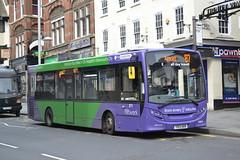 Nottingham City Transport 371 YX13AEN (Will Swain) Tags: nottingham 6th april 2018 nottinghamshire city centre nct bus buses transport travel uk britain vehicle vehicles county country england english williamsdigitalcamerapics100 371 yx13aen