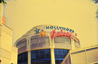 Hollywood California - Hollywood Galaxy Mall - Attraction