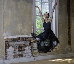 Airborne in the Studio (tomscott11) Tags: dance ballet youth teens historic action