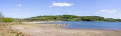 Carsington Water (sdmvqedd30) Tags: carsington reservoir water landscape trees grass sky clouds panorama leica derbyshire shore rocks lake countryside views