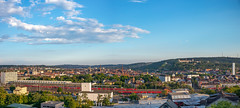20180716_201148_Leica_MP_1103790-Pano.jpg (RD B) Tags: weinamstein weinfest leicamptyp240 sonnenuntergang berg leicasummiluxm35mmf14asph weinberg himmel wolken blauerhimmel clouds nature sky sunset bluesky mountain würzburg bayern germany de