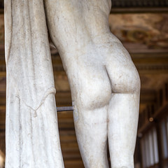 A girl's buttocks (Hans van der Boom) Tags: holiday vacation europe italy firenze florence uffizi museum art bum butt buttocks cheeks girl marble statue tuscany it