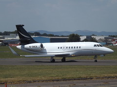 M-SNER Dassault Falcon-2000EX EASy (Wincor Aviation Establishment) (Aircaft @ Gloucestershire Airport By James) Tags: gloucestershire airport msner dassault falcon2000ex easy wincor aviation establishment bizjet egbj james lloyds