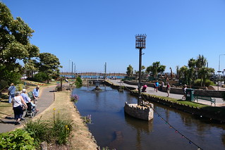 Dawlish Water Downstream
