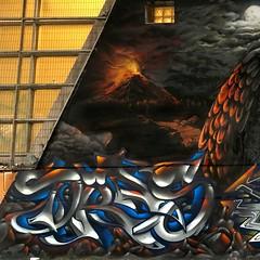 36522046_10217261461388299_3503538791967096832_o (Stos Graffiti) Tags: graffity graffiti graff stos streetart art alvarostos alvarogonzalezmontenegro arte stosgraffiti streetgraff chilegraffiti cai ten caicai kaikai trengtreng tenten mitologia mapuche mural muralart muralism muralismo sea mar volcan snake serpiente