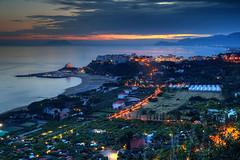 Sperlonga Evening (hapulcu) Tags: italia italie italien italy lazio mediterranean sperlonga dusk primavera printemps spring sunset