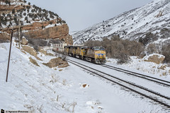 Gliding Down Echo Canyon (Utah3002) Tags: evanstonsub up unionpacific trains railways railroad railfans znpoa