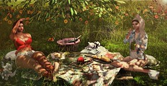 #TIME-TO-PICNIC (Zeva Style) Tags: eventsuber thechapterfour cosmopolitan stores catwa nuno reign peaches lb wereclosed halfdeer jian sl secondlife friends bento mesh camp picnic