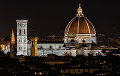The Dome (mcalma68) Tags: duomo florence firenze night architecture panorama skyline tourism travel destination cathedral famous long distance exposure 175mm sony alpha a7 ii 24240mm