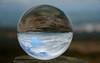 Upside down pendle hill (Laineyb93) Tags: glassball crystal niko nikond7000 nikonworld iamnikon pendlehill pendle lancashire landscape lancashirelandmark visitlancashire visitburnley view clouds