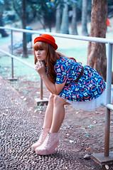 Disayang Hujan (a.k.a Rujakandroid.) Tags: portrait fashion asian girl color people