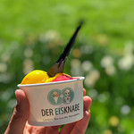 Tasty vegan mango-raspberry ice cream by Der Eisknabe thumbnail
