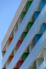 Modern building in Athens - Colori ad Atene (Dado 51) Tags: atene athens colori colors grecia greece