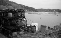 Depth-Charge II (Jan Zielinski) Tags: tegne krabbetegne trap net fishing traps coastal coast austagder sea opensea fjord norway norge himatic7s minolta rokkor