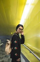 Wanthida (Frédéric T. Leblanc) Tags: light yellow jaune mtl montréal montreal portrait amateur fun vive vibe moment capture create people teen teenager canon 5d mk3 markiii mkiii mark3 cinema cinematic quebec canada girl asian