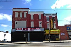 West Philly (Laura Gonzalez/ PBNPhotography) Tags: pennsylvania philadelphia city mainstreet shopping american blight