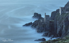 The Crowns after sunset (Stephen Gough) Tags: thecrowns tinmine botallack nationaltrust mining tinmining penwith cornwall