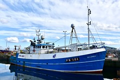 FR121 Helenus - Fraserburgh Harbour Scotland - 19/4/2018 (DanoAberdeen) Tags: heatherbellev trawlermen seaport fraserburghharbour fraserburghscotland fraserburgh danoaberdeen nikond750 nikkor fish fishing fisherman seafarers trawlers tug tugboat scotland autumn summer winter spring clouds bluesky salmon haddock cod scallops candid amateur northeastscotland maritime northsea aberdeenshire grampian metal helenus fr121helenus harbour trawler winte 2018 trout mackrel fishingboat nikon aberdeen shipspotting fishauction bonnyscotland fishtown fishingvillage thebroch broch dock boat ship vessel
