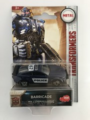 Hasbro / Dickie Toys - Transformers - The Last Knight - Barricade - Police Car - Miniature Diecast Metal Scale Model Emergency Services Vehicle (firehouse.ie) Tags: scifi sciencefiction charactertoys toys toy robotsindisguise movierelated movie thelastknight lastknight policia cops cop models model miniatures miniature metal diecast robots robot barricade transformer transformers cars car police fordmustang mustang ford