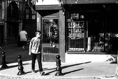 boy (brekna) Tags: street streetphotography streetphoto streetphotobw fujifilm xt1 blackandwhite bw monochrome man minimal human people outdoor shadow