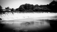 Tadcaster Weir (designfabric57) Tags: river weir water bridge viaduct sun summer panasonic lumix g7 tadcaster