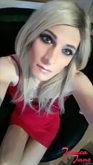 Looking Up (jessicajane9) Tags: selfie trans cd tranny lgbt tgurl crossdressing transvestite crossdress transgender feminization tgirl crossdresser tg m2f tv xdress