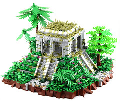 Celestian Temple Ruins (Ayrlego) Tags: lego mesoamerican celestia corrington brethrenofthebrickseas bobs mayan