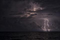 All night long (Khuroshvili Ilya) Tags: weather storm flash clouds sea horizon nature lights electricity night dark katsiveli ponizovka thunderstorm lighting portfolio selected