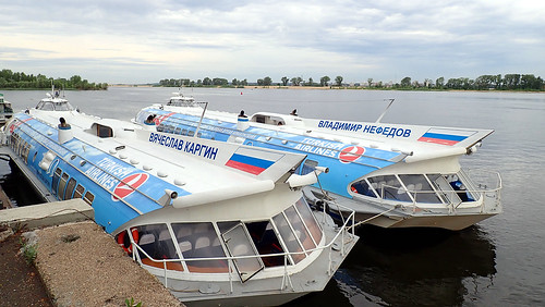 We are going from the city of Kazan to the city of Bolgar, Tatarstan. Those fast ships go from Kazan to Bolgar and back. ©  The Chuvash people of Krasnoyarsk region