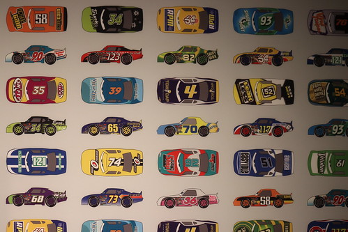 "Art of race cars from Cars - The Science Behind Pixar • <a style=""font-size:0.8em;"" href=""http://www.flickr.com/photos/28558260@N04/42094903210/"" target=""_blank"">View on Flickr</a>"