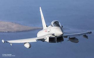 No 1435 Flight Typhoon FGR4