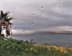 IMPRESSIONIST (giovanni.muscara28) Tags: fotografia photography impressionist arte art rain pioggia light luce sky cielo landscape panorama giovannimuscarà cool good strong natura nature sea mare color drops green verde macro focus