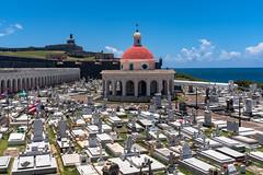 Old San Juan Cemetery (Foto Blitz Color) Tags: sanjuan puertorico santamaríamagdalenadepazziscemetery oldsanjuancemetery cemetery july summer oldsanjuan chapel elcementeriodelviejosanjuan graves burial headstone gravestone marker